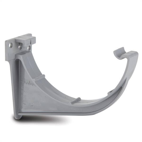 Polypipe 112mm Fascia Bracket Grey