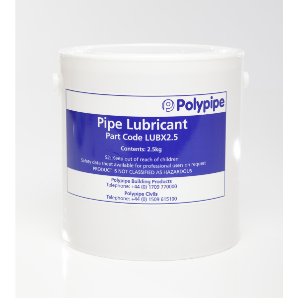 Polypipe 2.5kg Soluble Lubricant Lubx2.5
