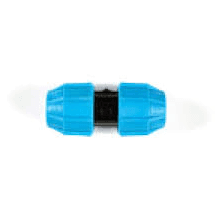 Polypipe 25mm Polyguard Plastic Coupler PGF40025