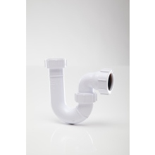 Polypipe 32mm Tubular Trap Swivel Seal White