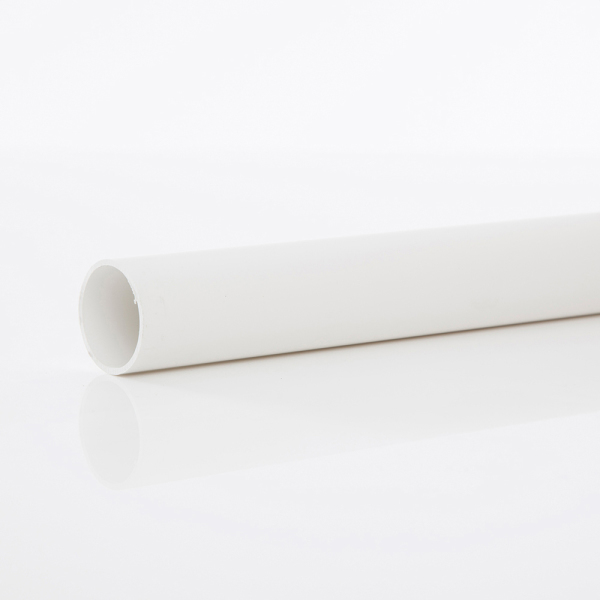 POLYPIPE 40MM X 3MT MUPVC PIPE     WHITE