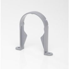 Polypipe 68mm Round Downpipe Bracket Grey