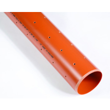 Polypipe 6mx110mm U/G Perf.Pln.End Pipe
