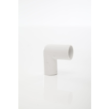 Polypipe ABS Overflow Knuckle Bend 90 Degrees 21.5mm White