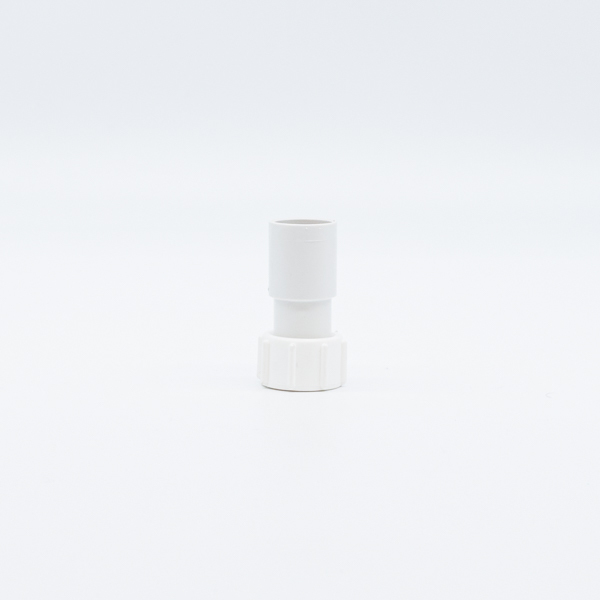 Polypipe ABS Overflow Straight Adaptor 21.5mm White