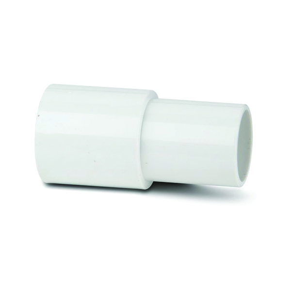 Polypipe ABS Overflow Tank Connector Adaptor White