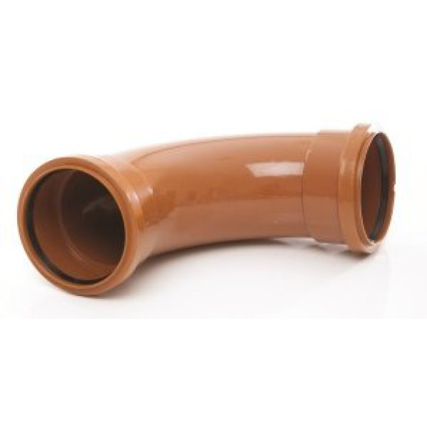 Polypipe Bend UG609 160mm 15 Degree Double Socket