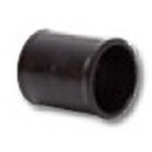 POLYPIPE BLACK 11/4 COUPLING       MU110