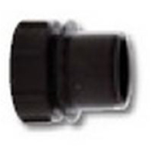 POLYPIPE BLACK SCREWED ACCESS PLUG MU119