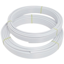 Polypipe Coil Barrier Pipe White