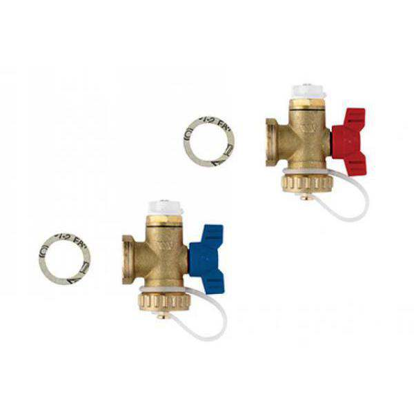 POLYPIPE MANIFOLD END SET (PAIR)