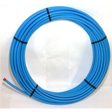 Polypipe MDPE Pipe Blue Coil 150 20mm