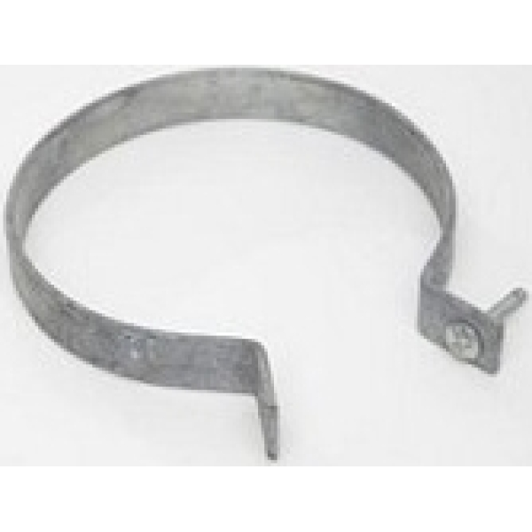 Polypipe Pipe  Bracket Galvanised Steel 110mm