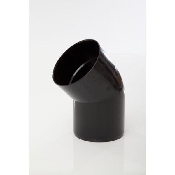 Polypipe Soil Bend Single Socket 110mm x 135 Degrees Grey