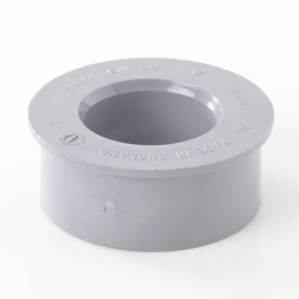 Soil Solvent Boss Adaptor Grey 32mm