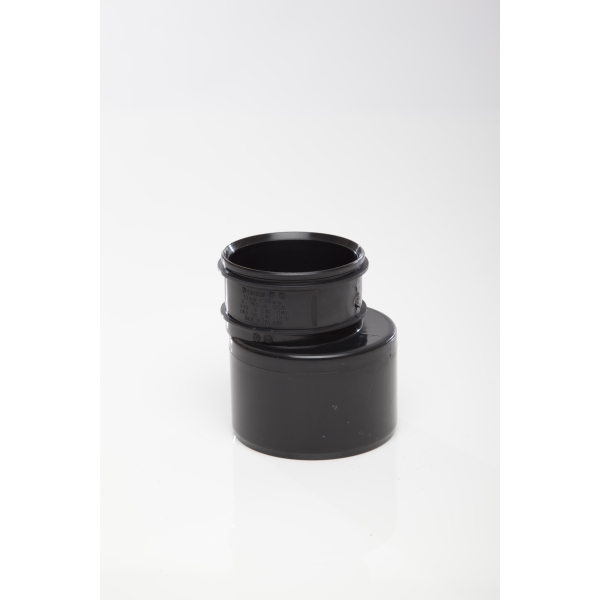 Polypipe Solvent Soil Reducer Single Socket 110mm x 82mm Black