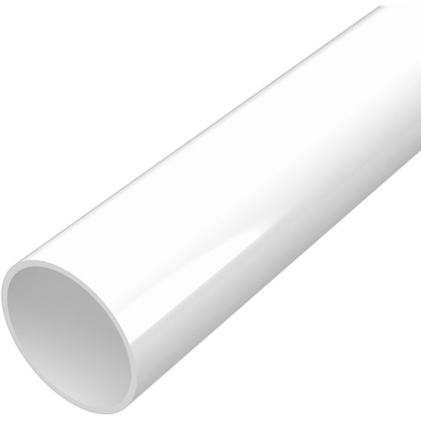 Polypipe Solvent Waste Pipe 40mm x 3m White