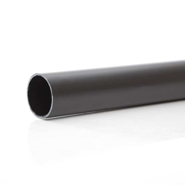 Polypipe Solvent  Waste Pipe 50mm x 3 Metres ABS Black