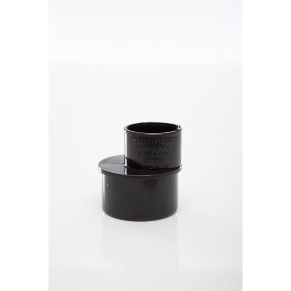 Polypipe Solvent Waste Reducer 50mm x 32mm ABS Black
