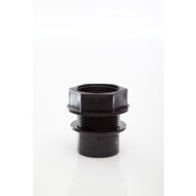 Polypipe Solvent Waste Tank Connector 32mm ABS Black