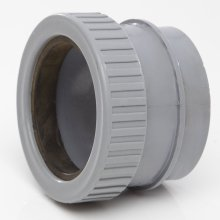 Polypipe Stright Adaptor 4inch 50mm
