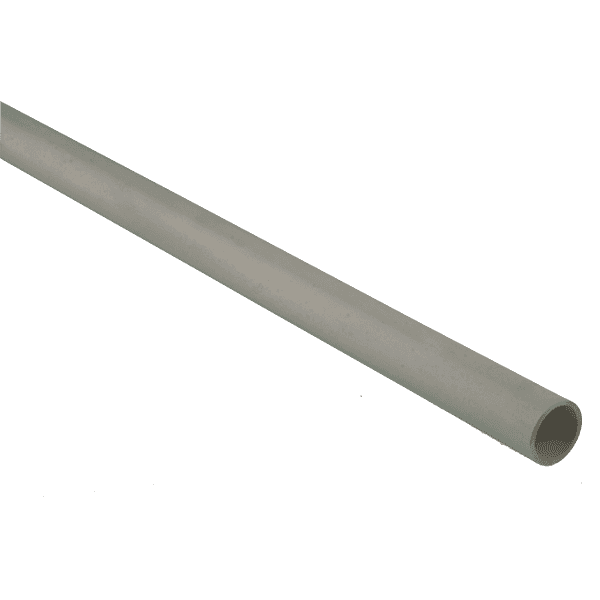 Polypipe Waste Overflow Pipe 21.5mm x  3 Metres ABS White