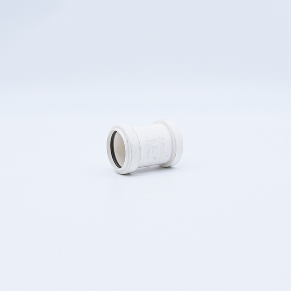 Polypipe Waste Straight Coupling 40mm White