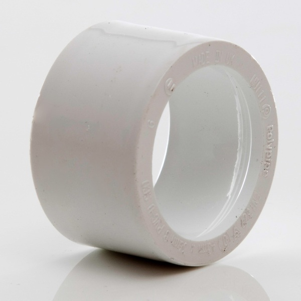POLYPIPE WHITE 40 X 32 REDUCER     MU111