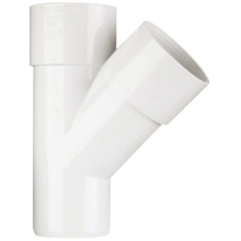 PolypipeSolvent Waste Junction 32mm x 45 Degrees ABS White