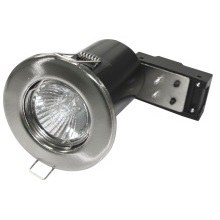 Powermaster 50W GU10 Fire Rated Fixed Downlight