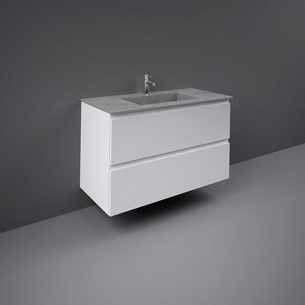 Precious Drop-In Wash Basin 1000mm 0TH C-Grey