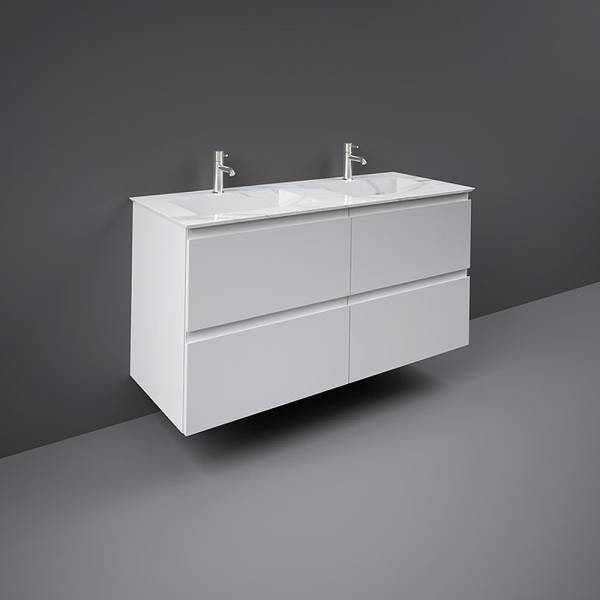 Precious Drop-In Wash Basin 1200mm 0TH Carrara