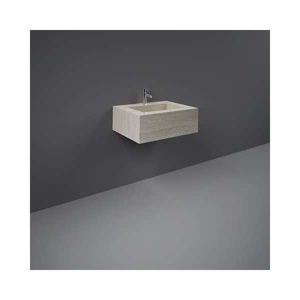 Precious Wall Hung Counter Basin 600mm 1TH Ivory