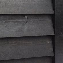 Pre-Painted Sawn Featheredge Cladding Black 32x175mm x 4.3m