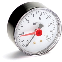 Pressure Gauge 0-10 Bar Bottom 1/4inch