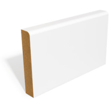 PRIMED MDF CHAMFERED & ROUND SKIRTING 14.5 x 95mm