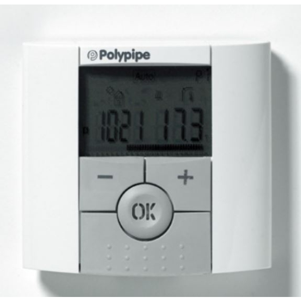 Polypipe 127mm Programable Room Thermostat