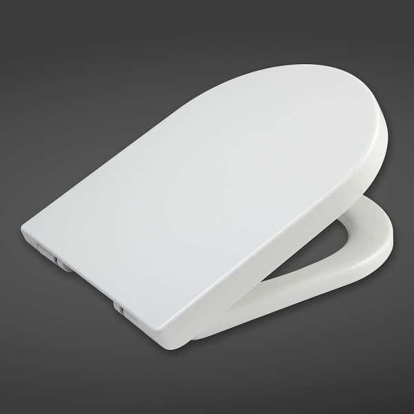 Quick Release Wrap Soft Close Urea Seat for Rimless Pan