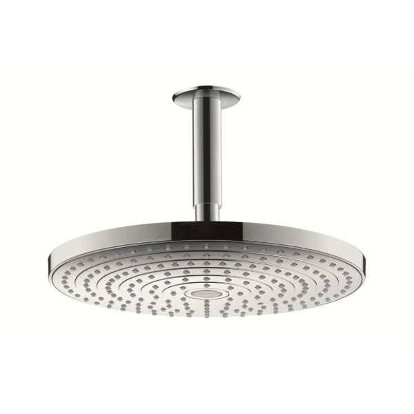 Raindance Select S300 2 Jet Overhead - Ceiling Mounted Chrome