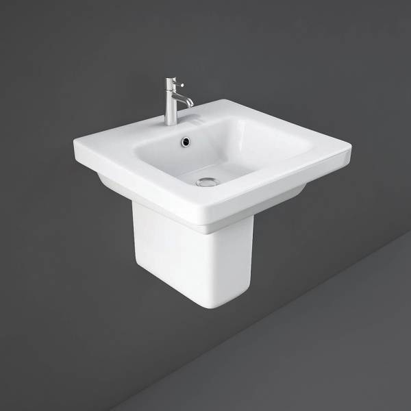 Resort Half Pedestal 530mm for 55-65cm Basin