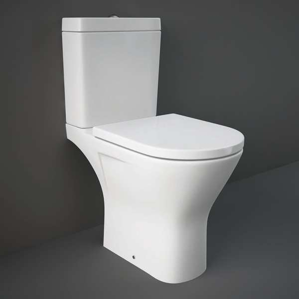 Resort Maxi Close Coupled Full Acc WC Pan Cistern With S-C Seat