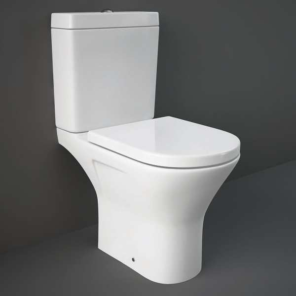 Resort Mini Close Coupled Full Access Open Back WC Pan