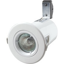 Robus Mains Voltage LED Downlight RF201-01 White