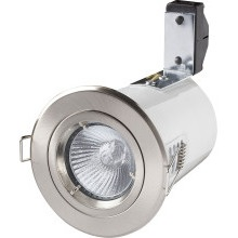 Robus Mains Voltage LED Downlight RF201-13 Brushed Steel