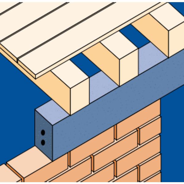 robeslee concrete lintel ps type d 150x100x900mm