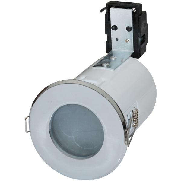 Robus Mains Voltage Downlight Bathroom RFS10165GZ-01 White