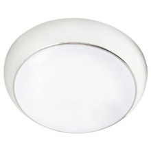 Robus R100LEDE-01 White 10W Emergency LED Ceiling Bulkhead With Pro-Diffuser
