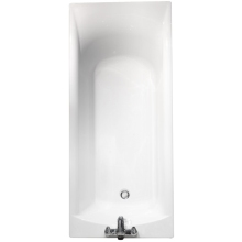Roca Giralda Plain Bath 1700 x 750mm White