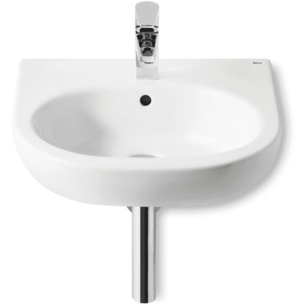 Roca Meridian Wall Hung Basin 450mm x 420mm