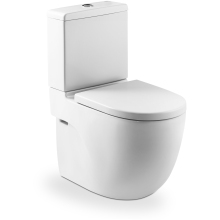 Roca Meridian-N Compact Cistern White